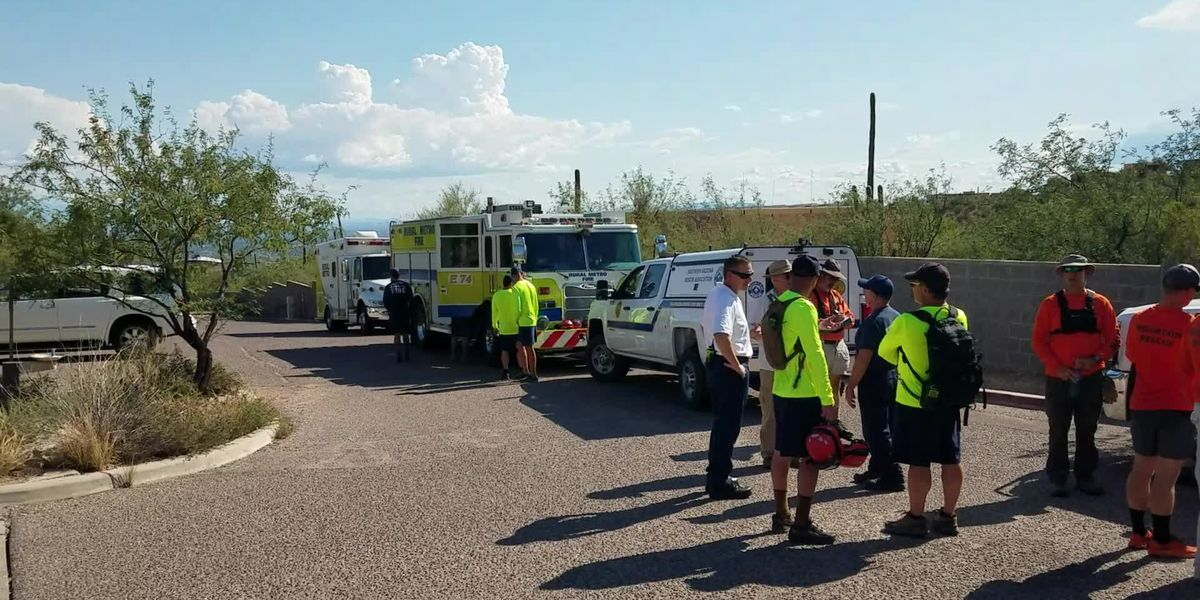 RMFD and others respond to dehydrated hiker at Finger Rock Canyon Trail
