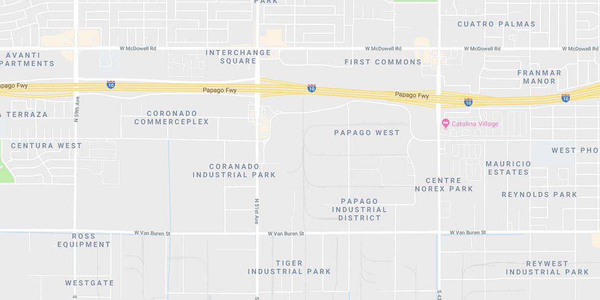 UPDATE: I-10 eastbound back open, westbound still closed near 43rd Ave. in Phoenix for a police incident