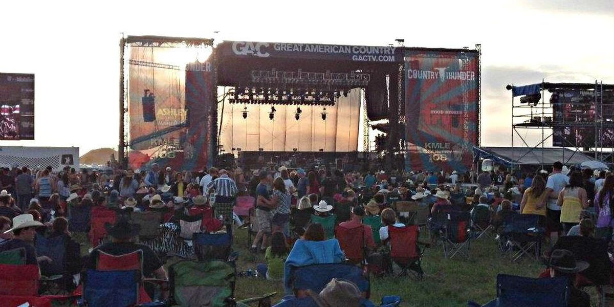 Country Thunder set to return April 8-11 2021 with Luke Combs, Eric Church