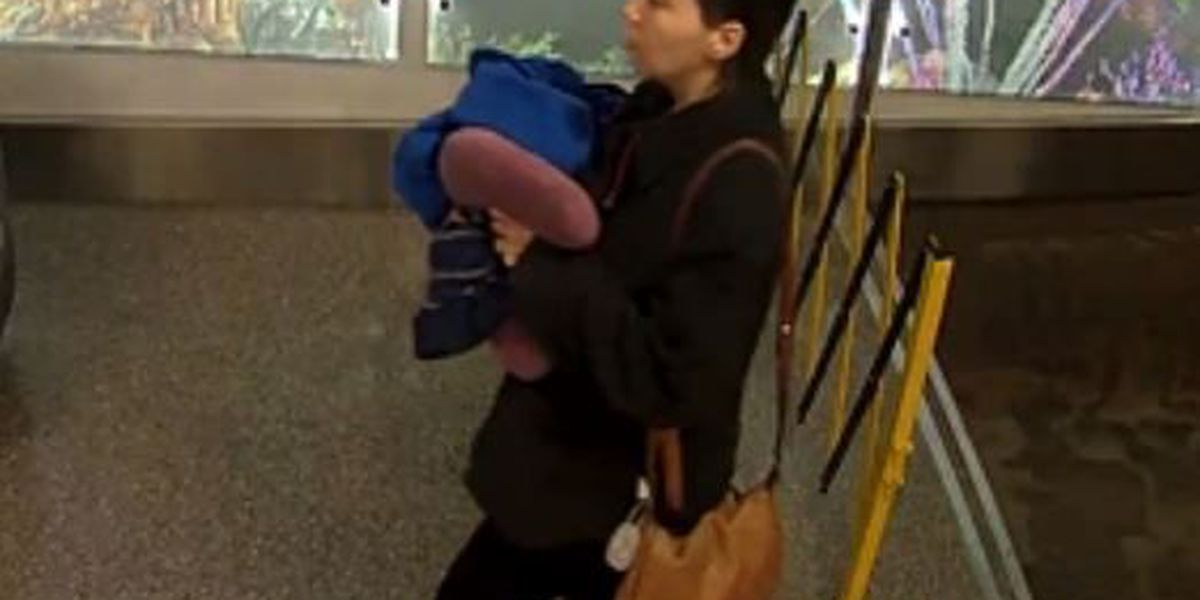Authorities release photo of woman accused of abandoning newborn at Tucson airport