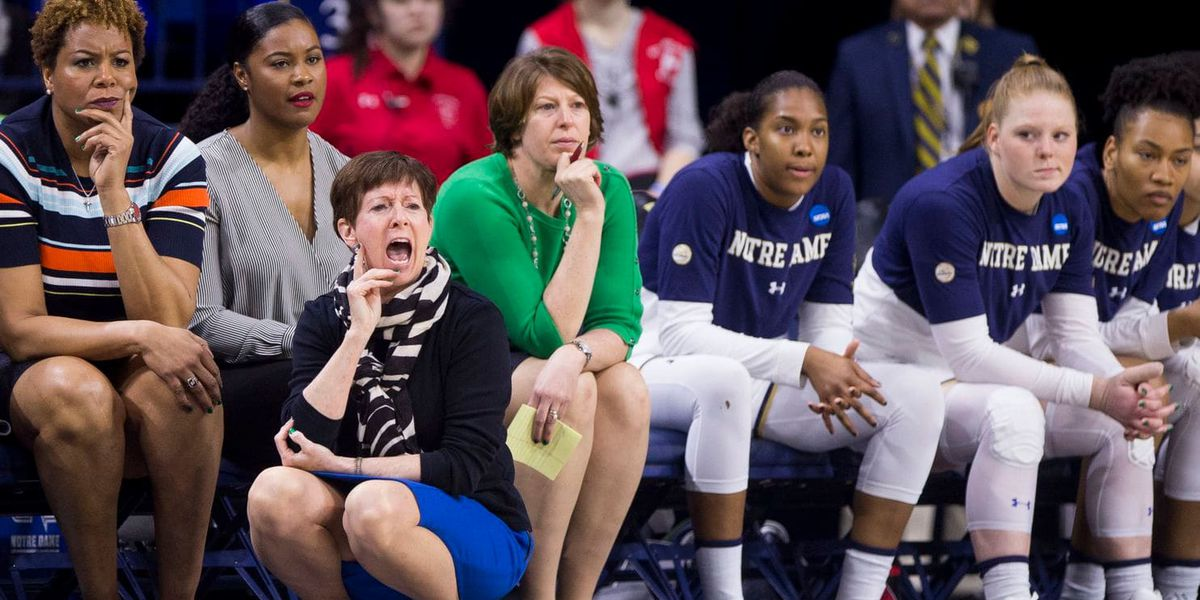 Notre Dame's McGraw wants more women in positions of power