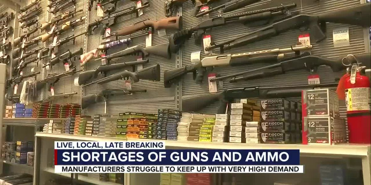 Chaos, campaigns & COVID-19 cause run on guns and ammo at local gun shop