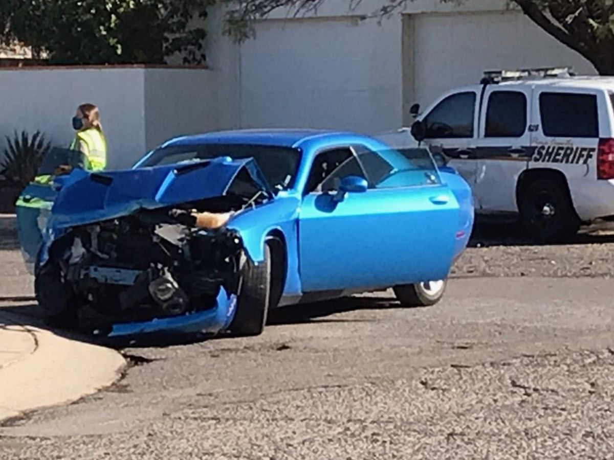 PCSD: Collision causes street closures in north Tucson
