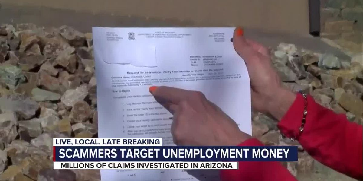 Fraudulent unemployment claims on the rise in Arizona