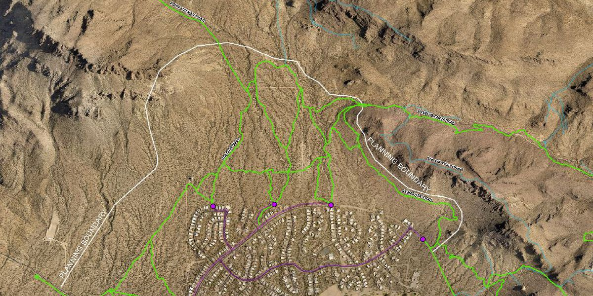 Open house for trail management plan in the Tucson Mountain Park/Tucson Estates
