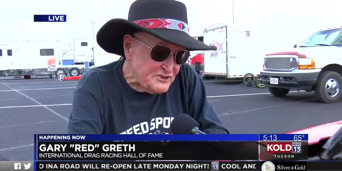 "Drag racing Hall of Famer Gary ""Red"" Greth interview"