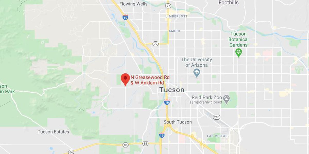 Pedestrian struck on Tucson's west side