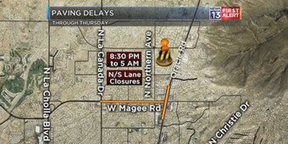 Update: Latest Magee Rd paving schedule
