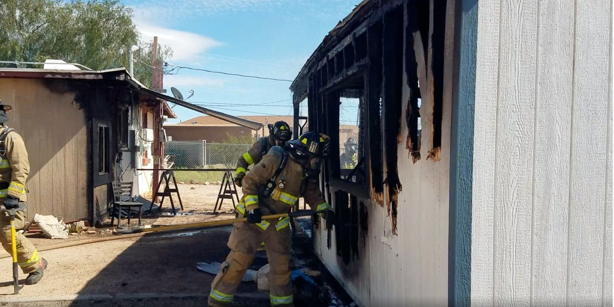 Rural Metro Fire Department investigates cause of residential fire near Benson Highway
