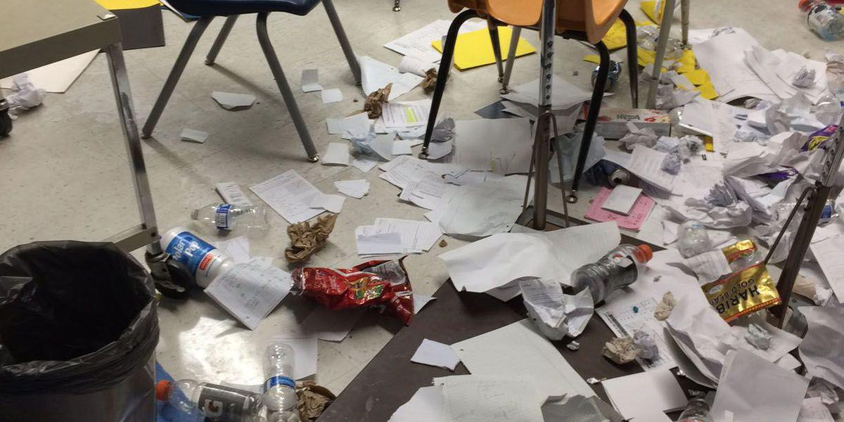 Reward offered in Pueblo High School vandalism