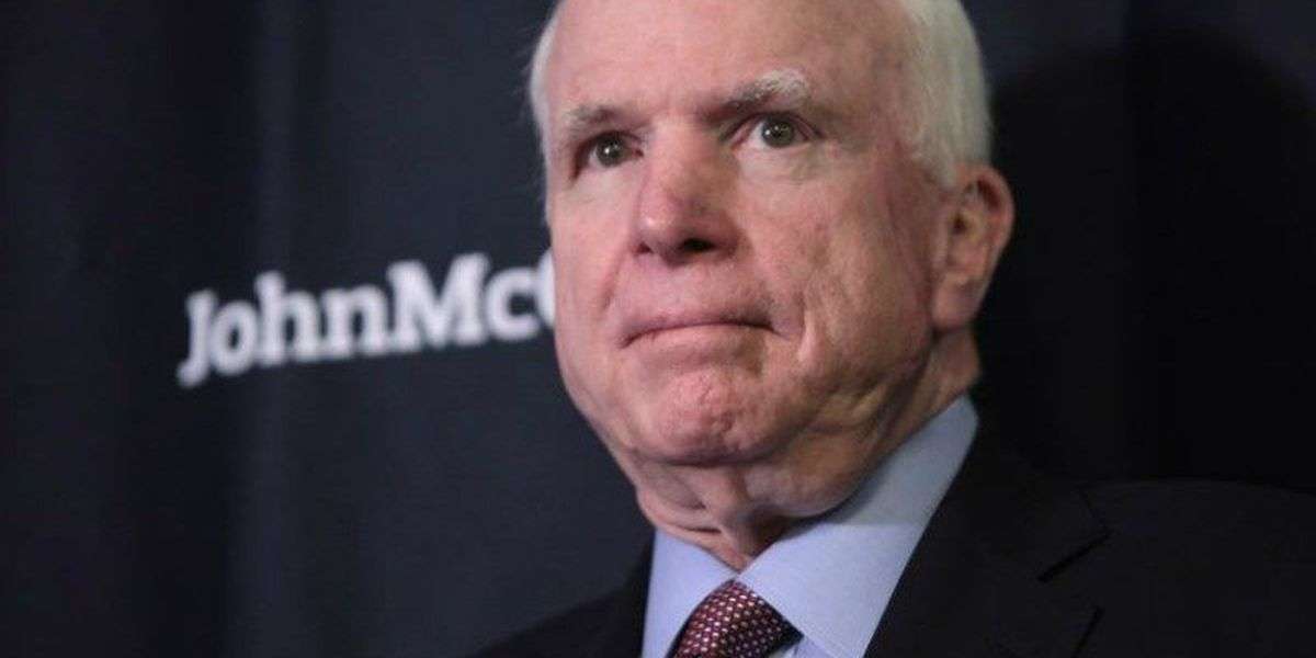 Sen. McCain chooses to discontinue treatment for cancer
