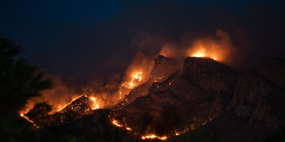 UPDATE: Bighorn Fire near Pusch Ridge now at 200 acres; no structures threatened, no evacuations planned