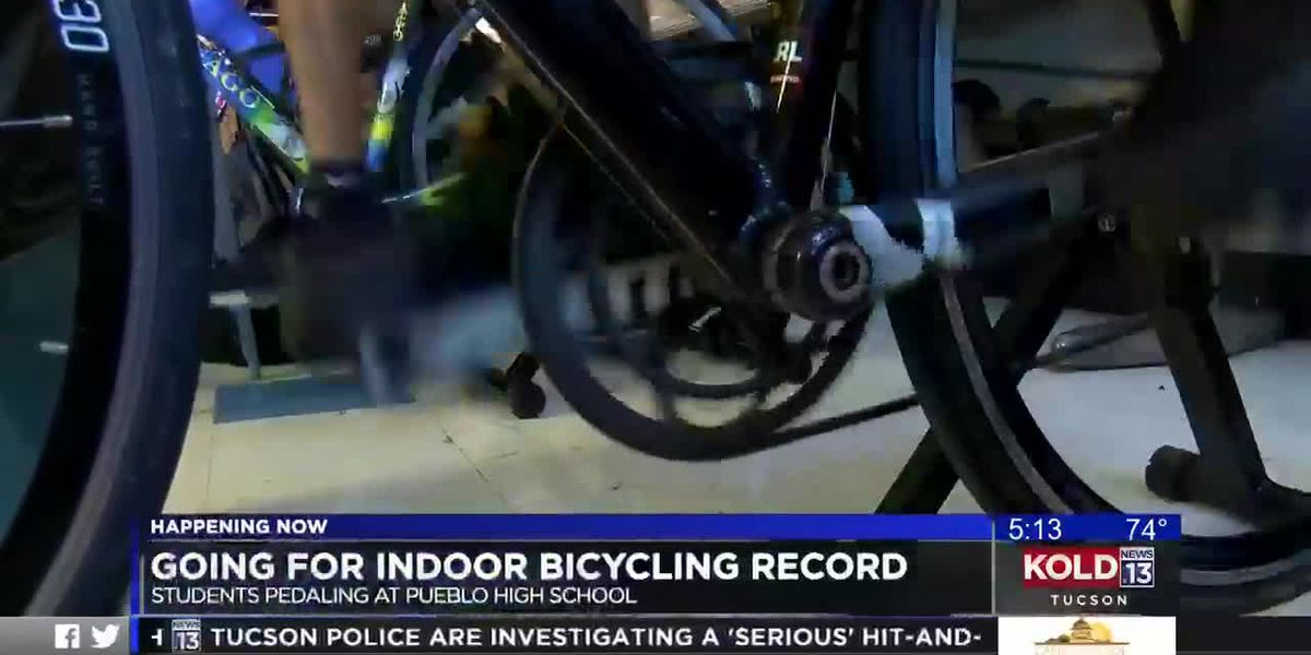 Teens to bike 17 hours for an El Tour de Tucson indoor record