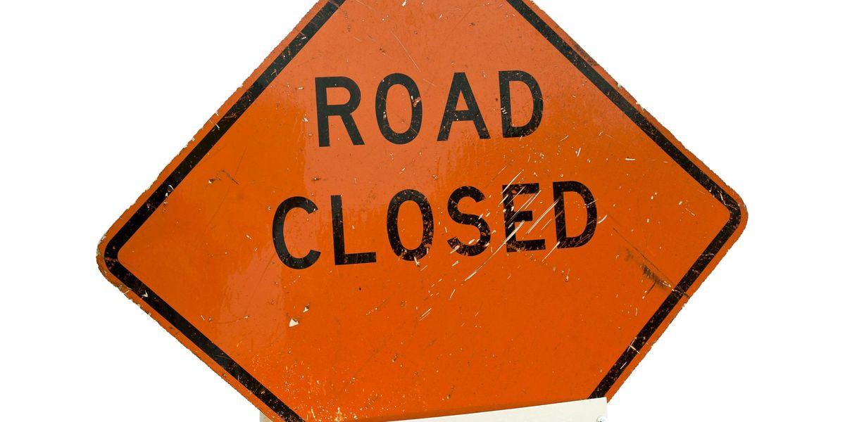 Old Spanish Trail closed following truck crash