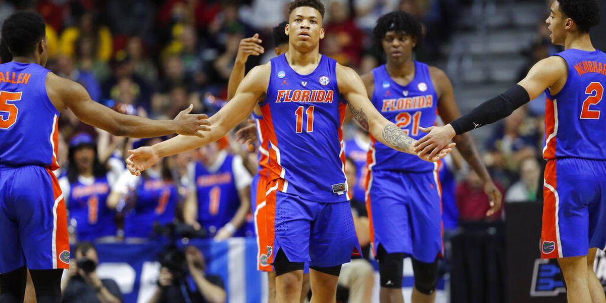 Chase Johnson Florida Gators Basketball Jersey