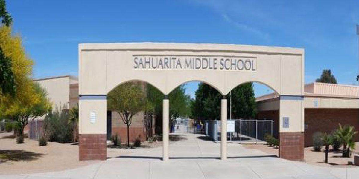 Suspected hazmat forces evacuation at Sahuarita Middle School