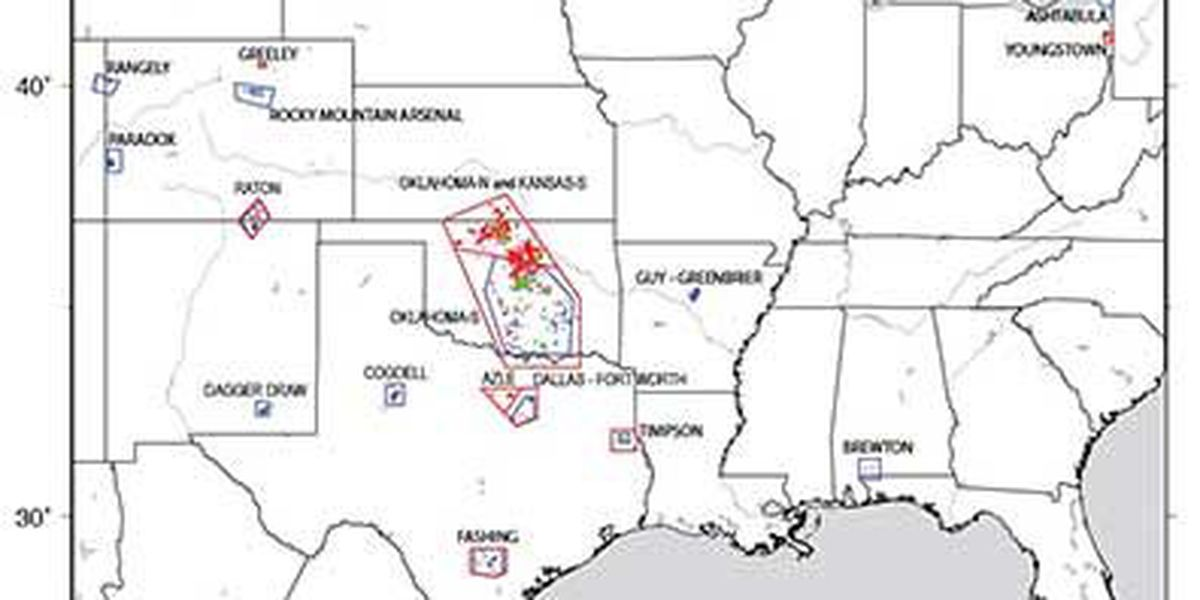 USGS: Earthquakes increasing because of human activity