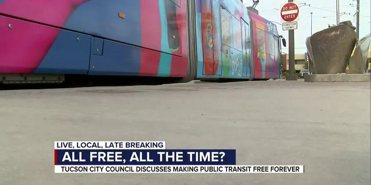 Tucson to consider free transit