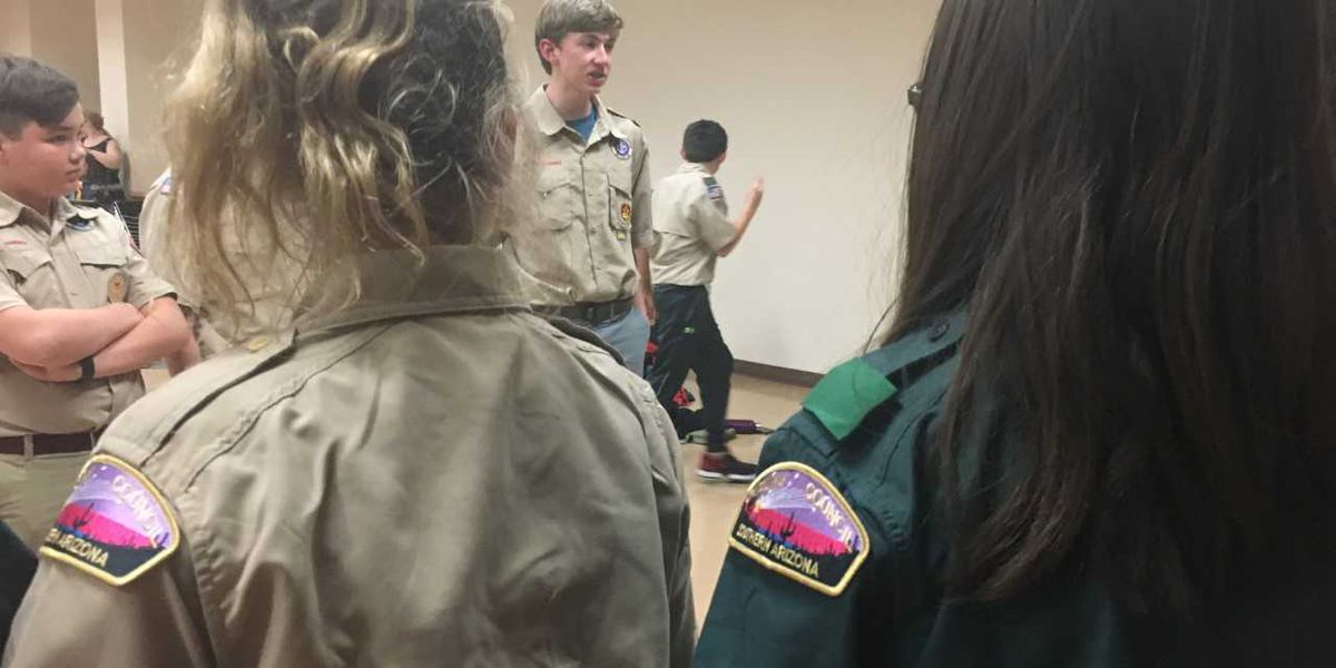 Scout Me In: Girls join Boy Scouts in southern Arizona