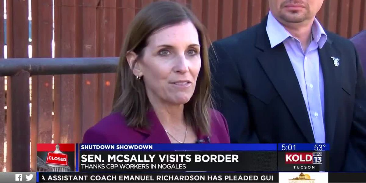 Senator McSally visits border