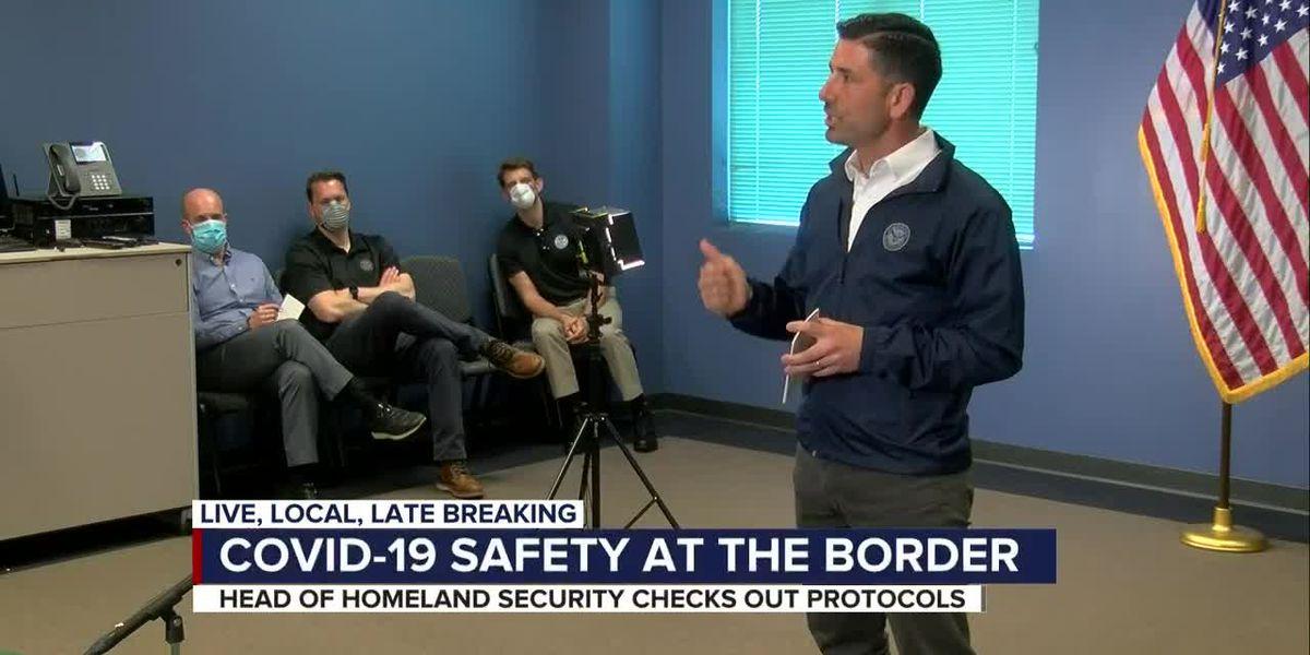Homeland Security Secretary visits Arizona, addresses COVID-19 safety at the border