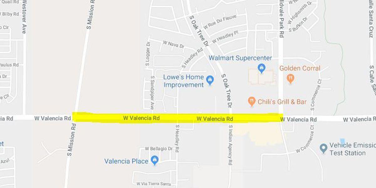 Crash closes Valencia between Midvale, Mission