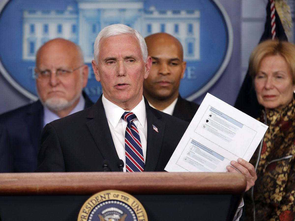 Pence to keep up travel despite top aide testing positive for coronavirus