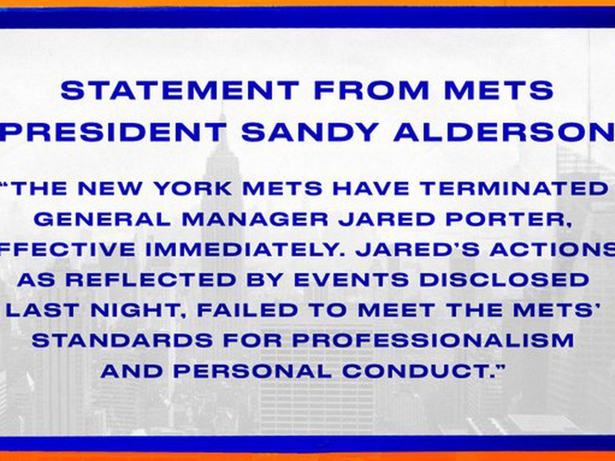 Report of harassment by fired Mets GM prompts anger, shock