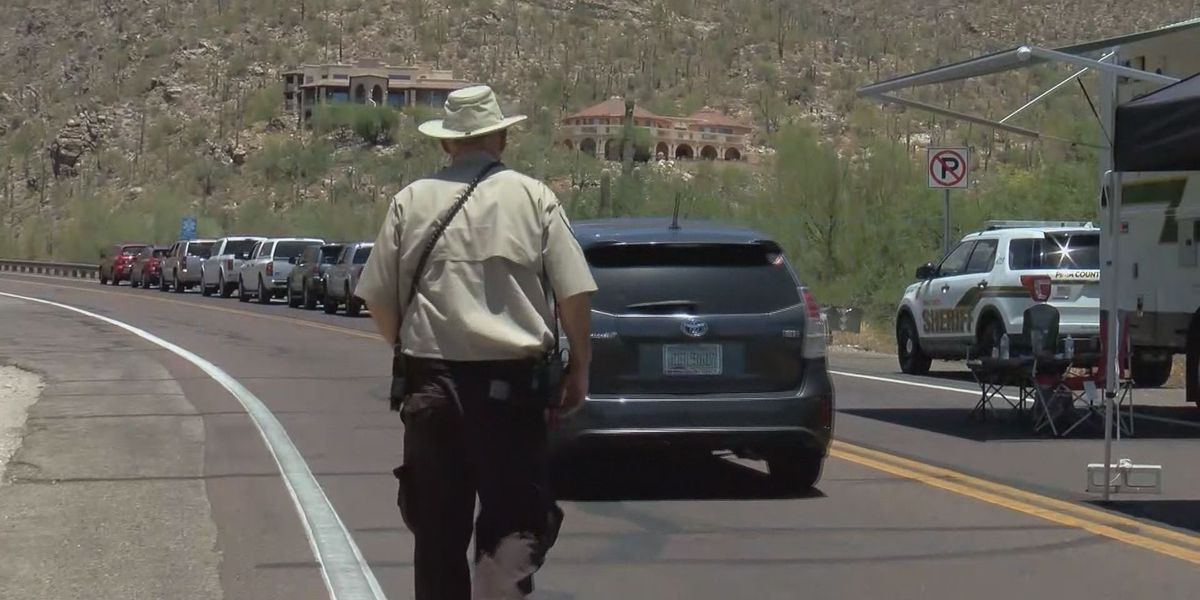 Mt Lemmon residents return after being evacuated
