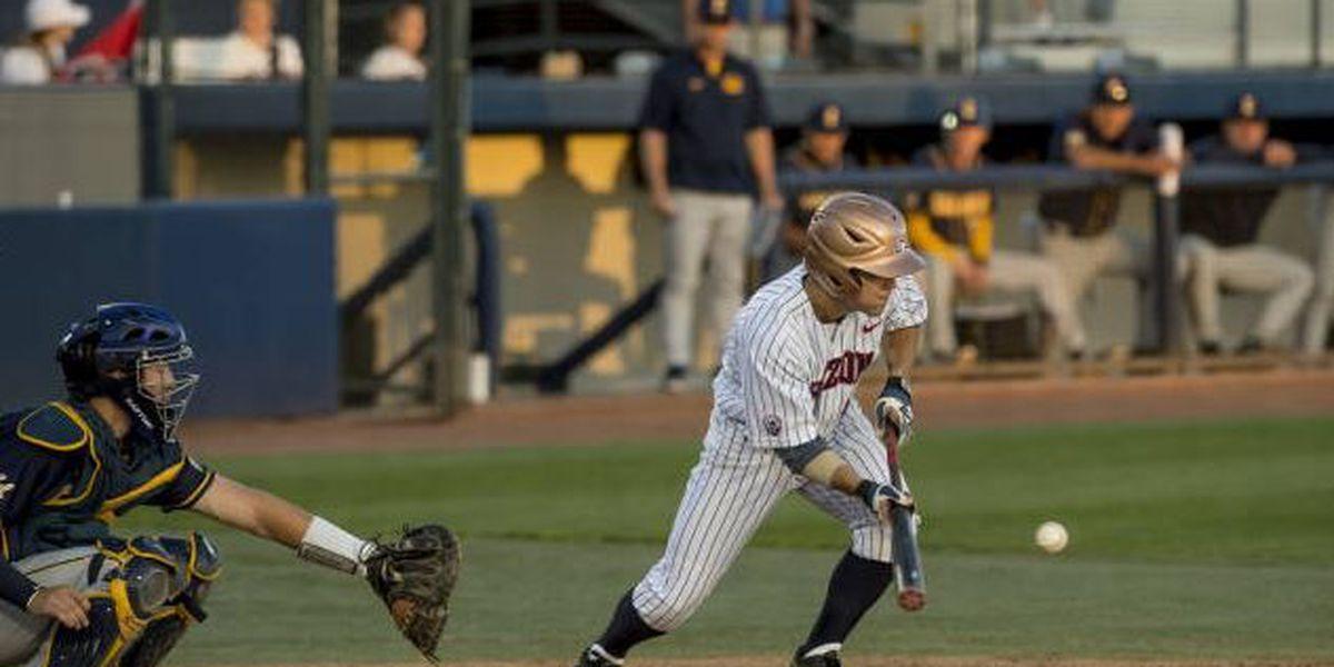 UA Baseball falls to Cal