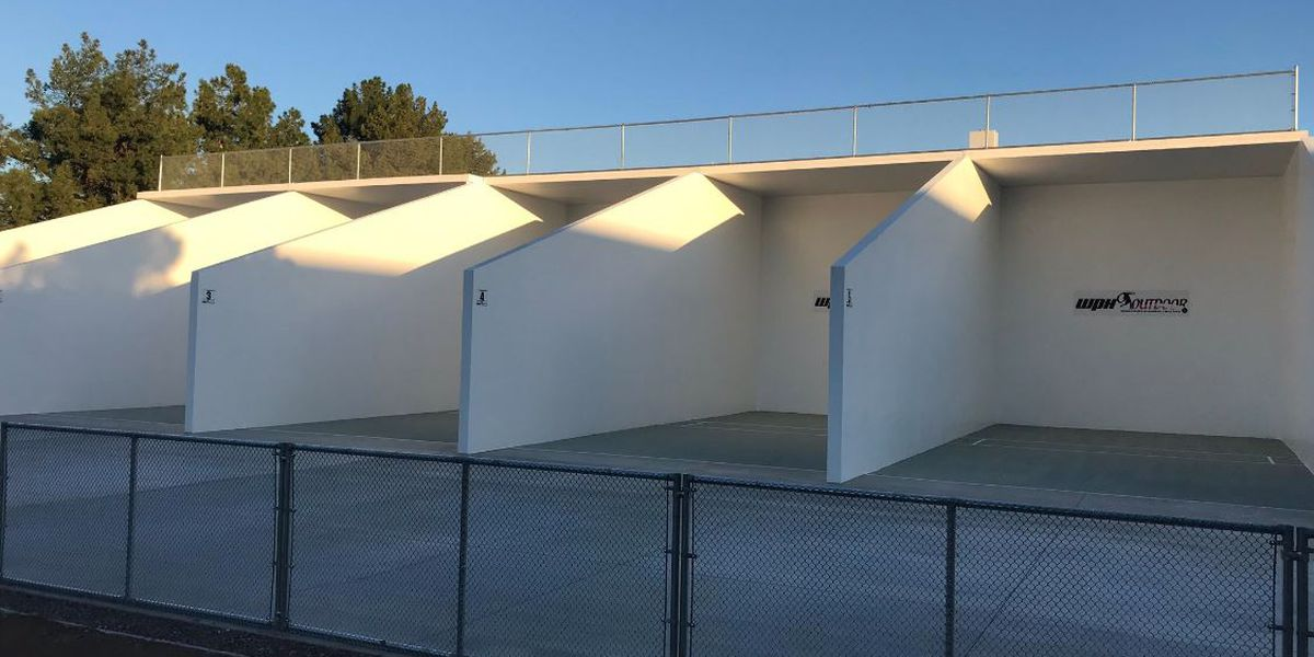 Renovations complete; tournaments now a possibility for Randolph handball courts