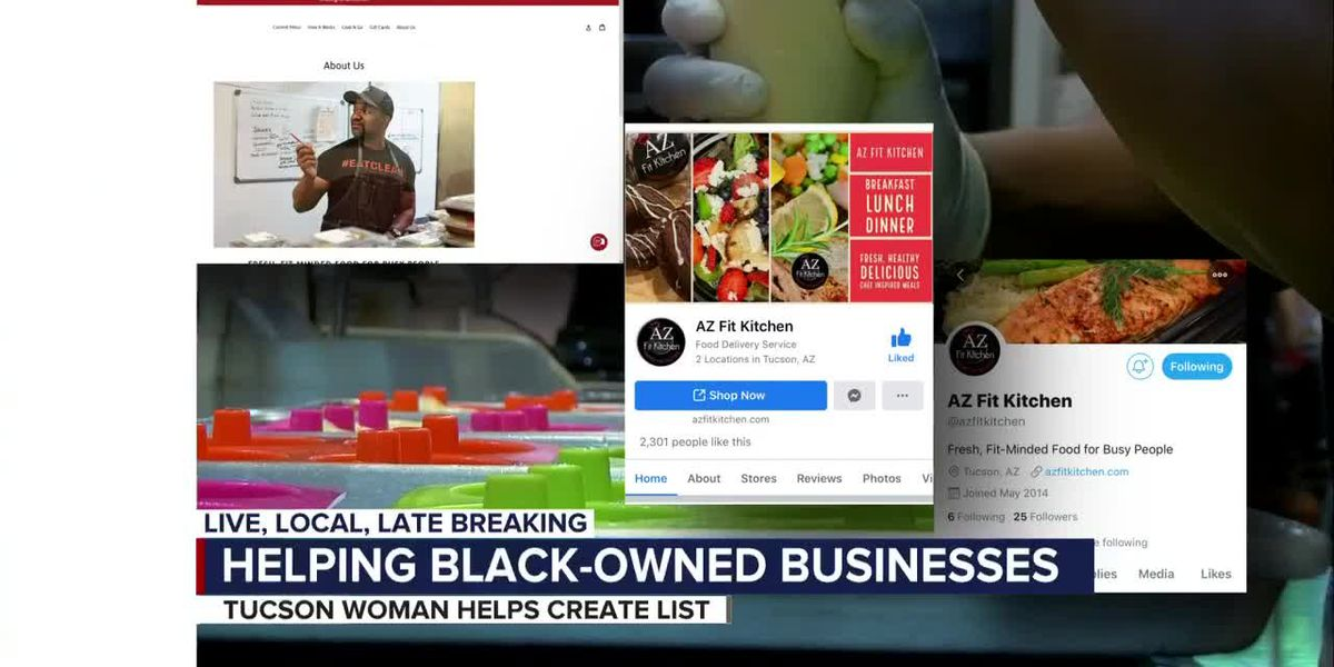Supporting black-owned businesses in Tucson