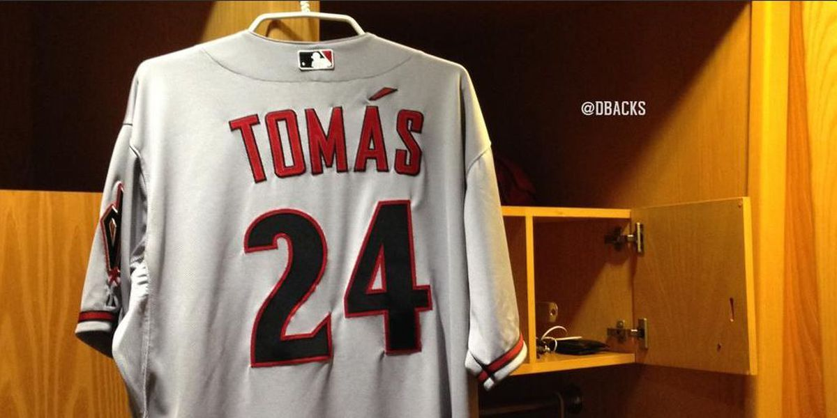 Dbacks recall Tomas
