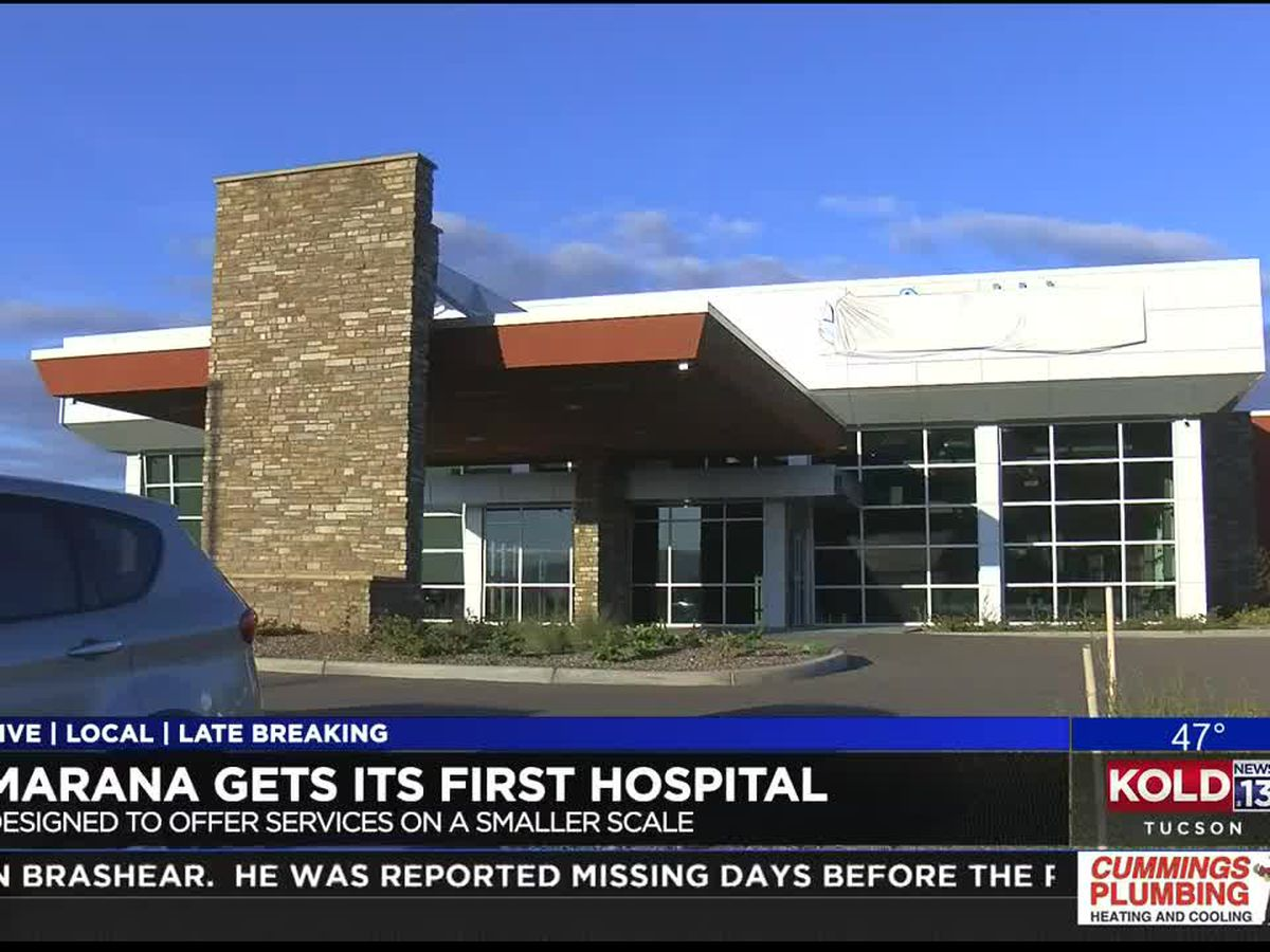 Neighborhood hospital set to open in Marana