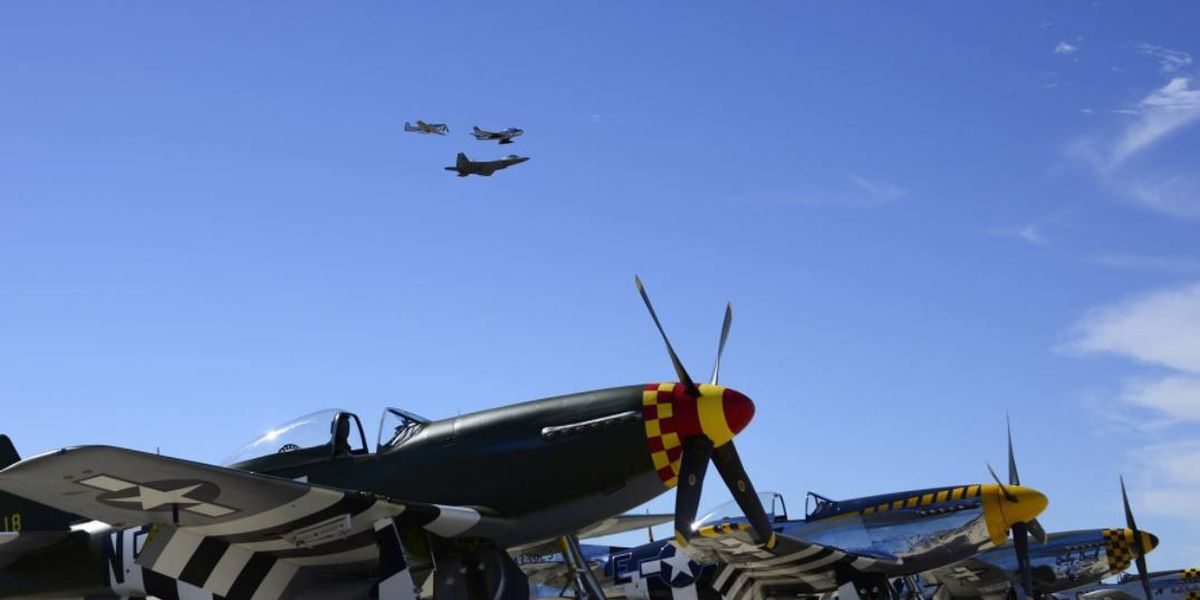 Heritage Flight training scheduled for early March at Davis-Monthan AFB