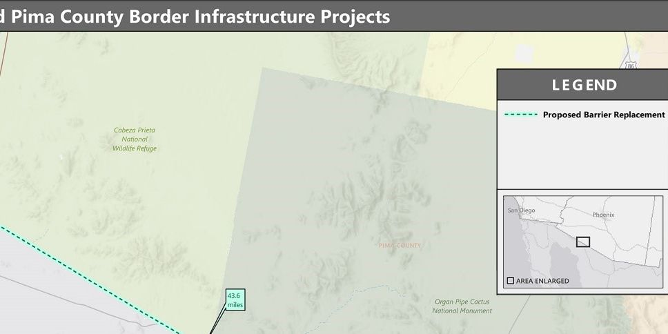 Public input wanted for border infrastructure projects in Pima, Cochise Counties