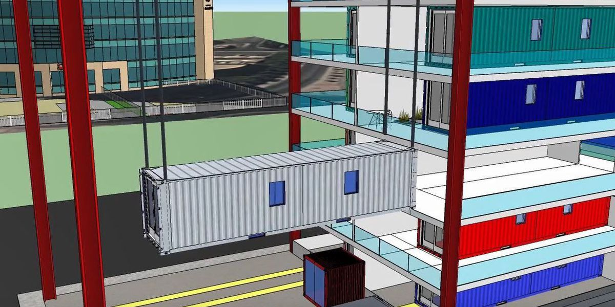 Shipping containers the new housing project coming to Tucson