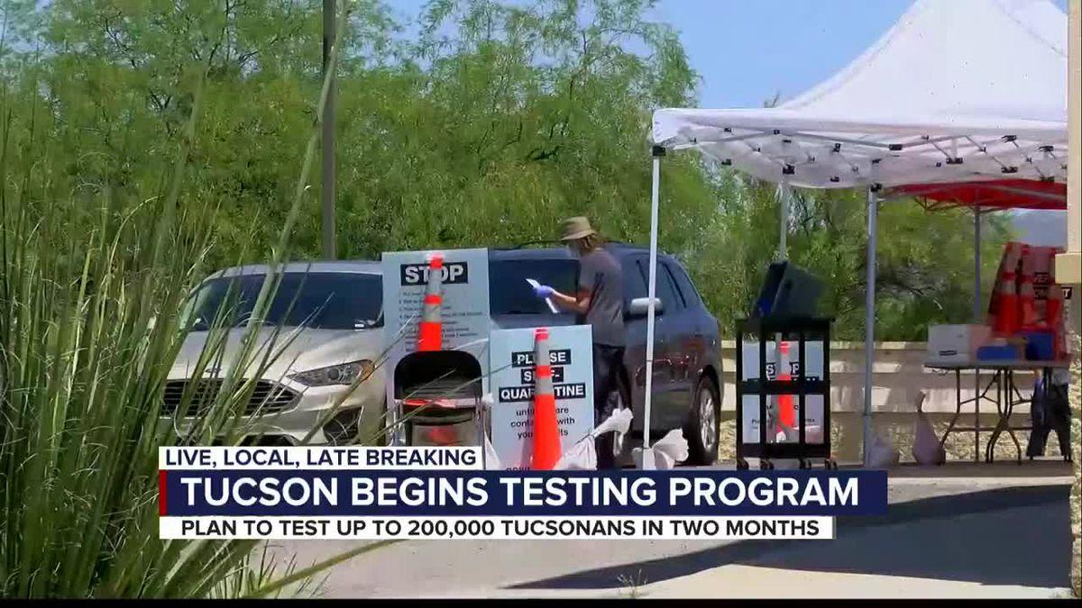 City of Tucson to begin free COVID-19 testing program