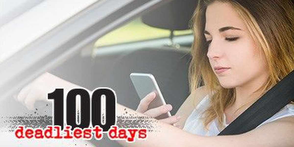 100 DEADLIEST DAYS: Tips for keeping your teen, others safe on the road