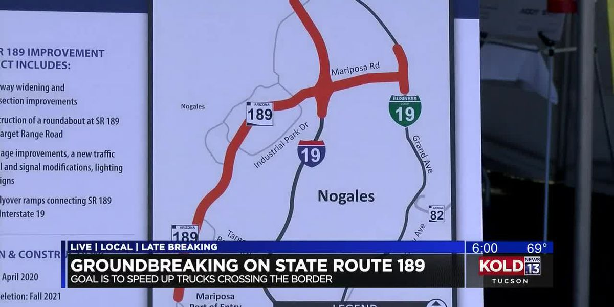 State Route 89 groundbreaking