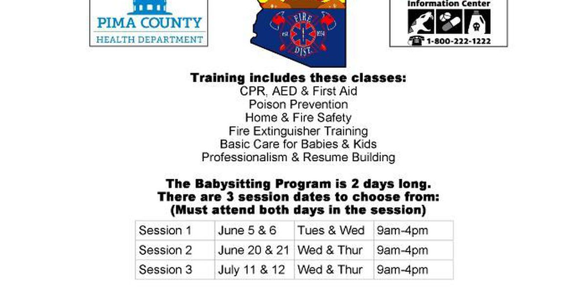 Drexel Heights Fire District offers babysitter training classes