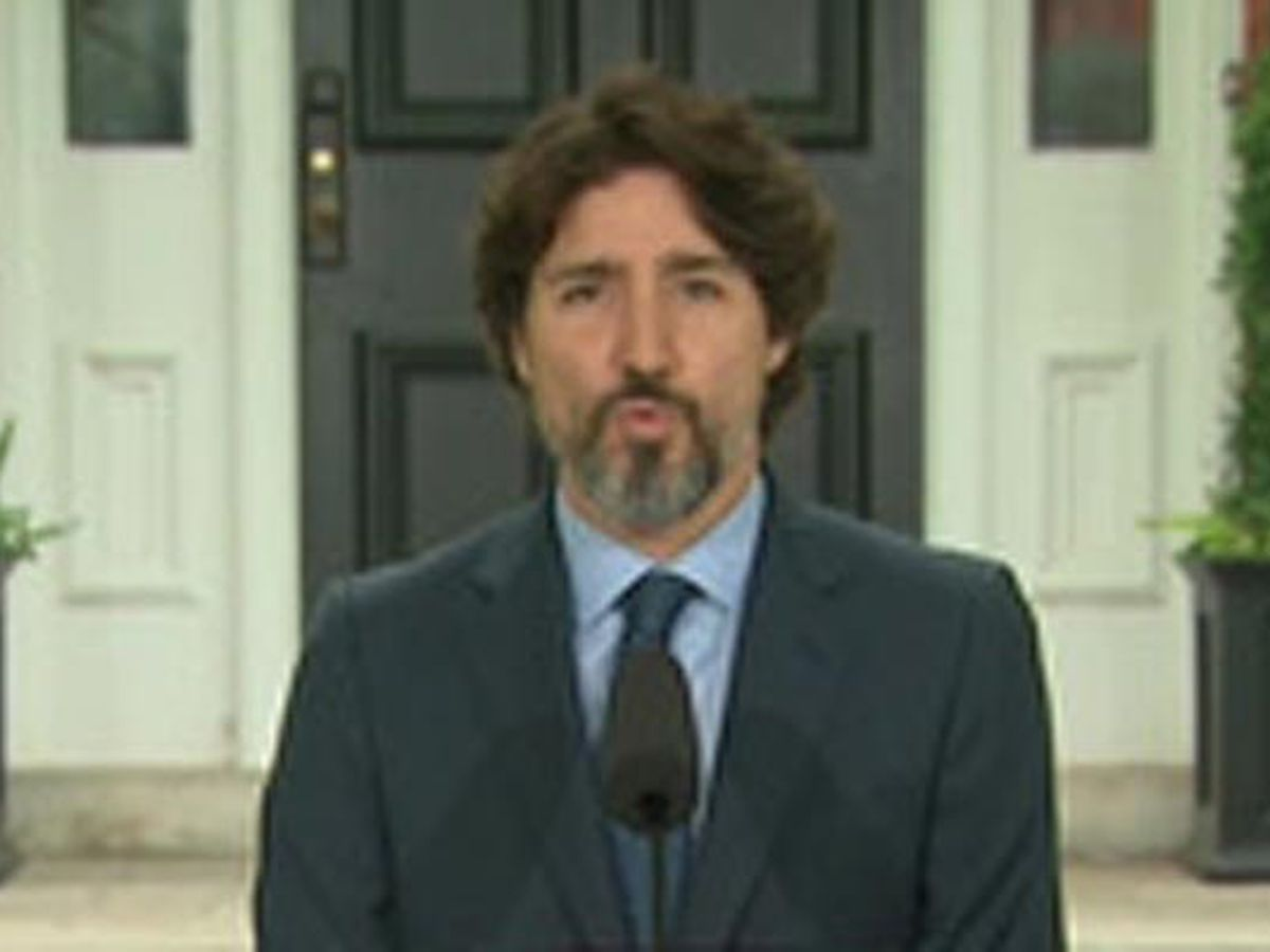 Police arrest armed man on the grounds where Canadian PM Trudeau lives