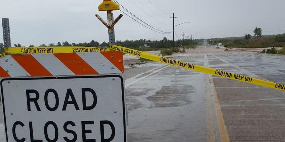 Pima County road closures