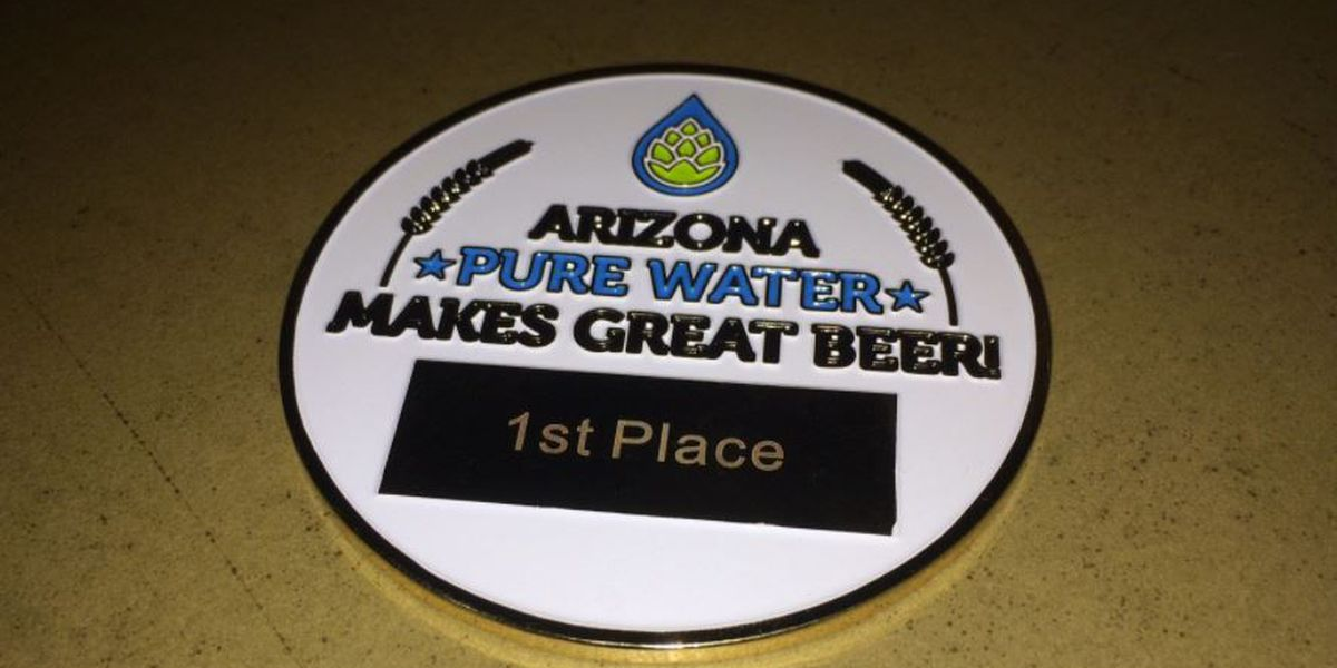Dragoon Brewing Company wins AZ Pure Water Brew Challenge