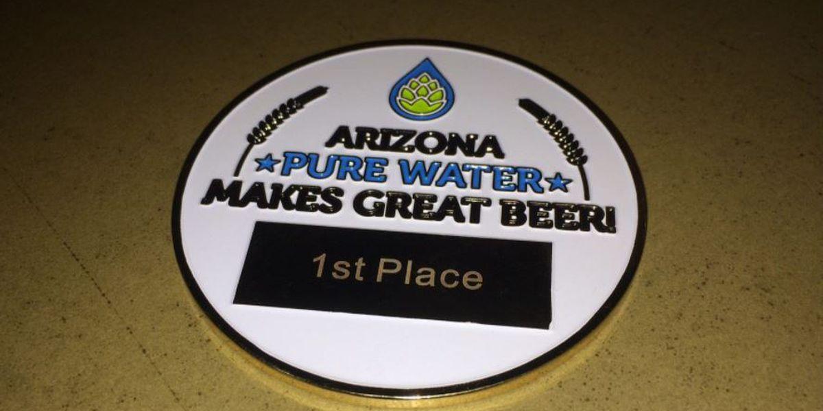 Dragoon Brewing Company wins AZ Pure Water Brew Challenge