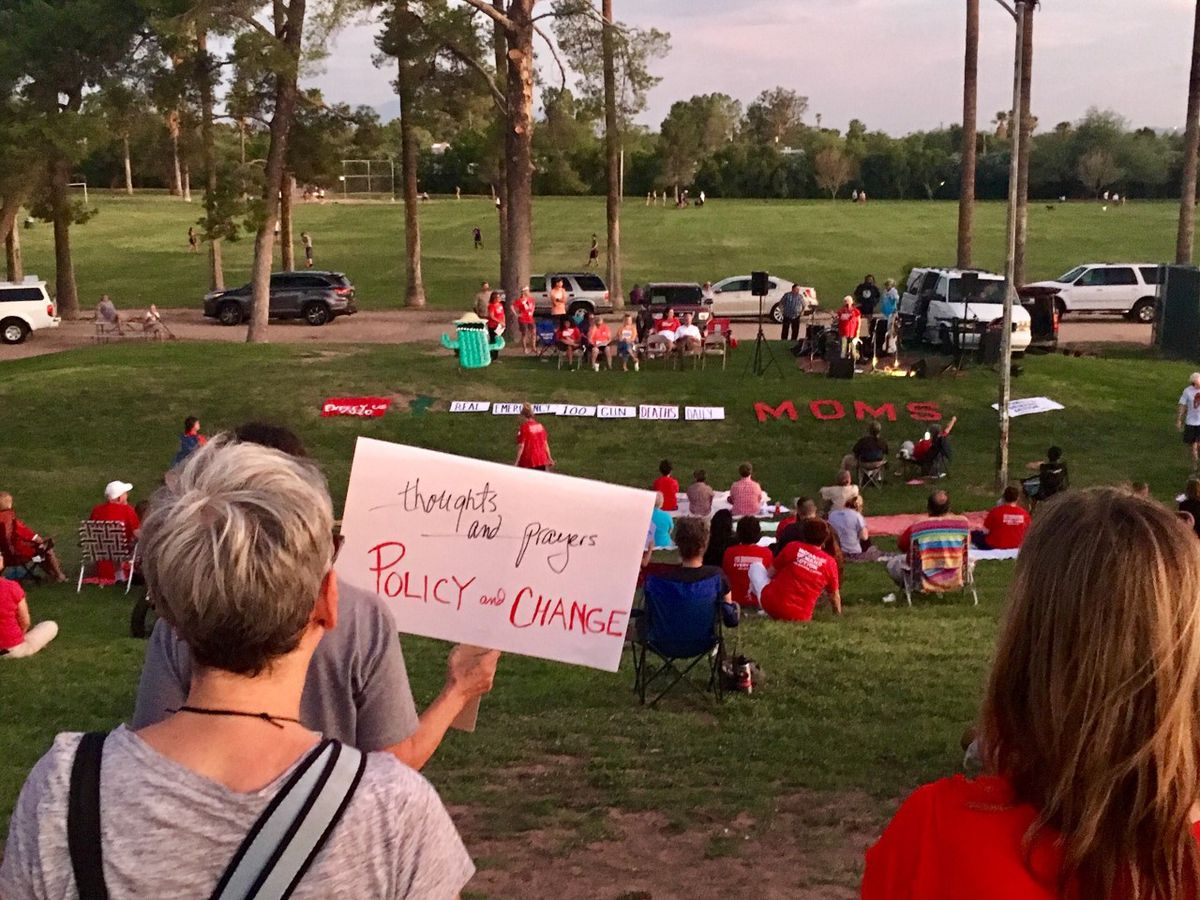 Tucson 'Moms Demand Action' rally for gun reform