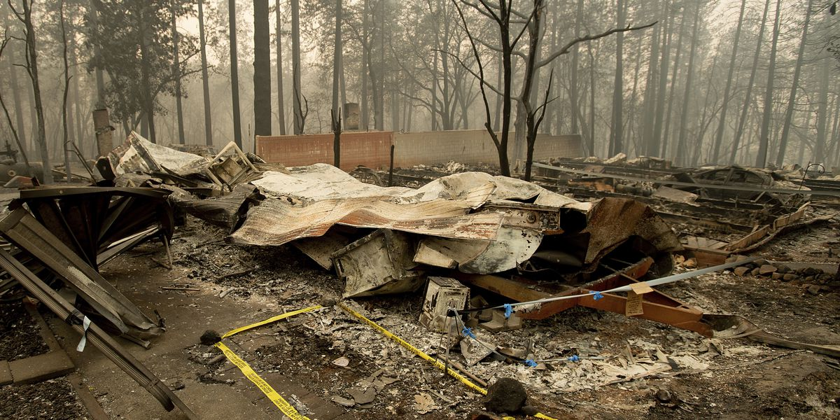 Northern California fire death toll reaches 63; Staggered evacuation plan questioned in fire's aftermath