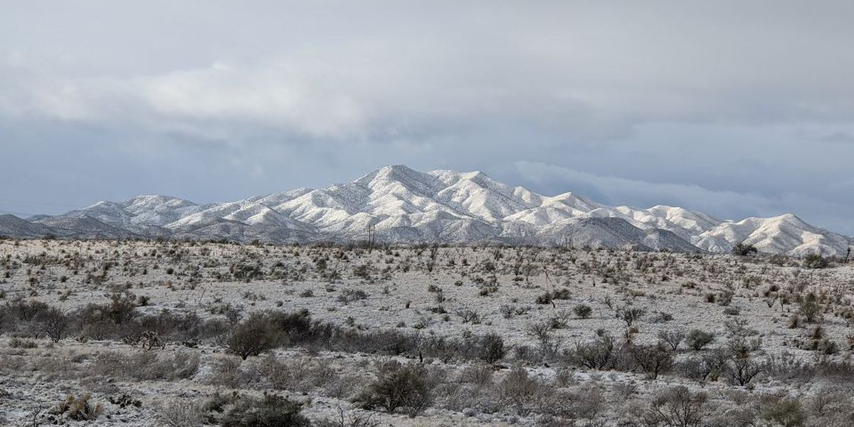SLIDESHOW: Southern Arizona residents get chance to enjoy rare snow day