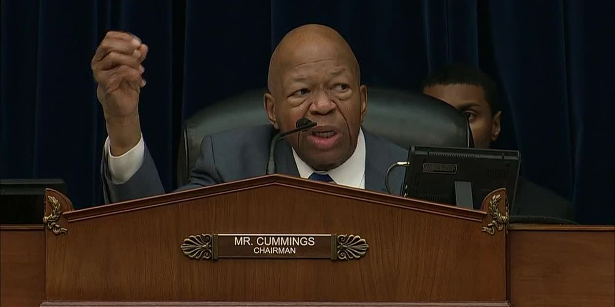 At Michael Cohen's hearing, Rep. Elijah Cummings looks at big picture