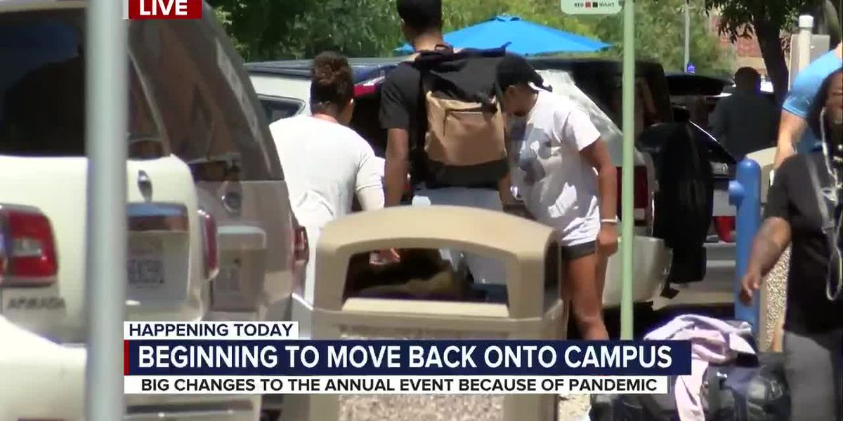 First of nine move-in days starts for UA